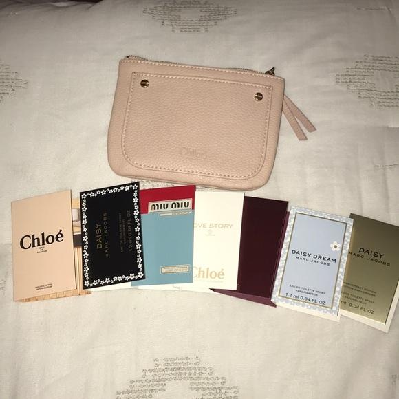fc1ca66d3a33 Chloe Handbags - Super Cute Chloe Pouch W 7 Sample Fragrances !